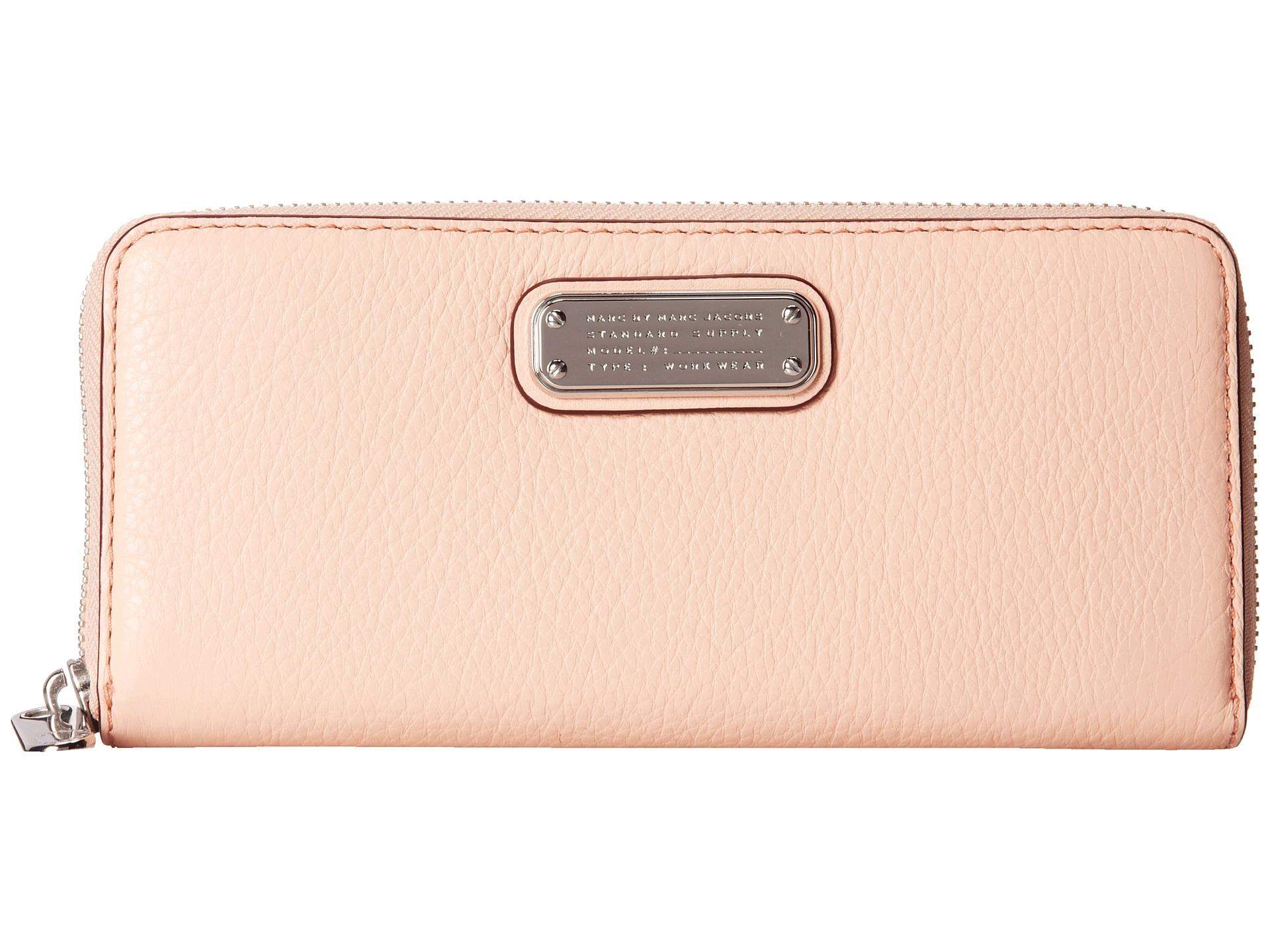marc jacobs plånbok rosa