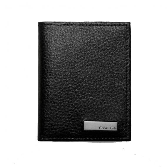 Calvin Klein tegnebog med plads til kort og med møntlomme CK10348