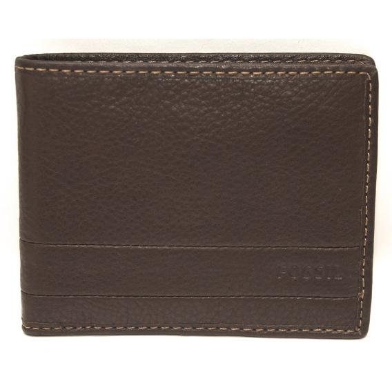 Fossil tegnebog med møntlomme FO10589