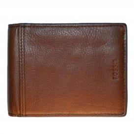 Fossil plånbok med myntficka