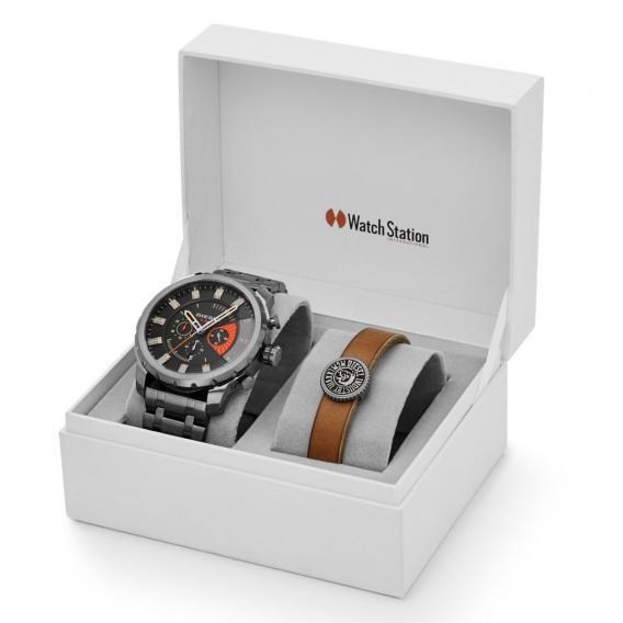 Часы diesel портмоне в подарок 68