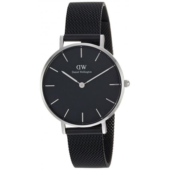 Даниэль веллингтон женские часы классический петит-сент-мовс белый/серебро 32 мм.