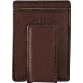 Fossil tegnebog med plads til kort
